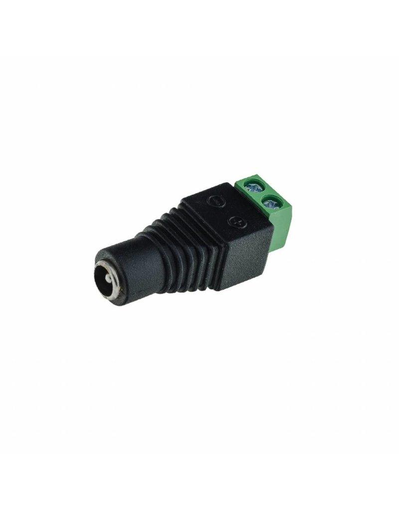 LEDFactory Adapter Netzteil Connector für Led Streifen Weiblich