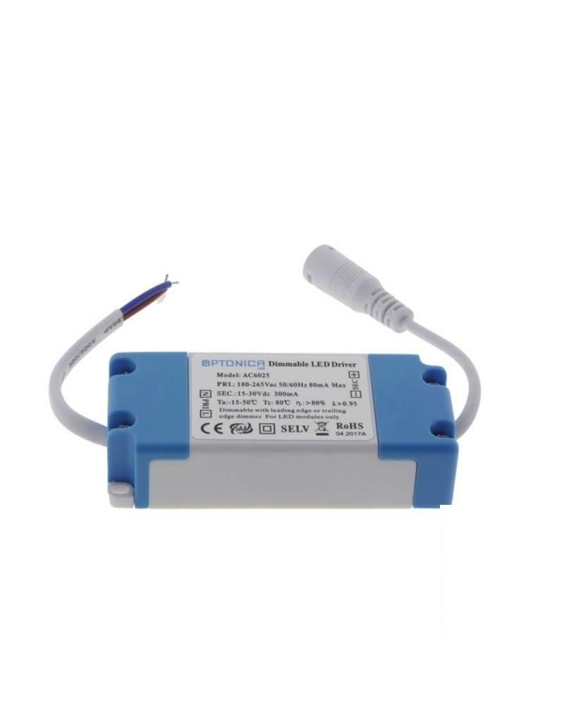 5-9W Dimmbares Netzteil für Einbauleuchten 220V 300MA