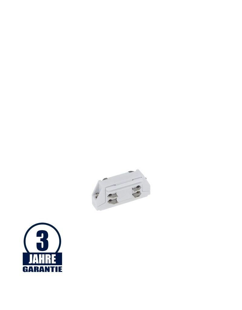 Mini Verbinder für 3Ph. Stromschiene Professional Weiß