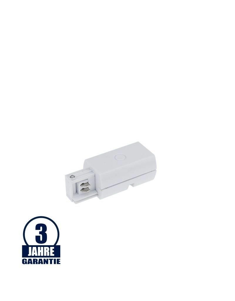 L-Anfangseinspeisung für 3Ph. Stromschiene Professional Weiß