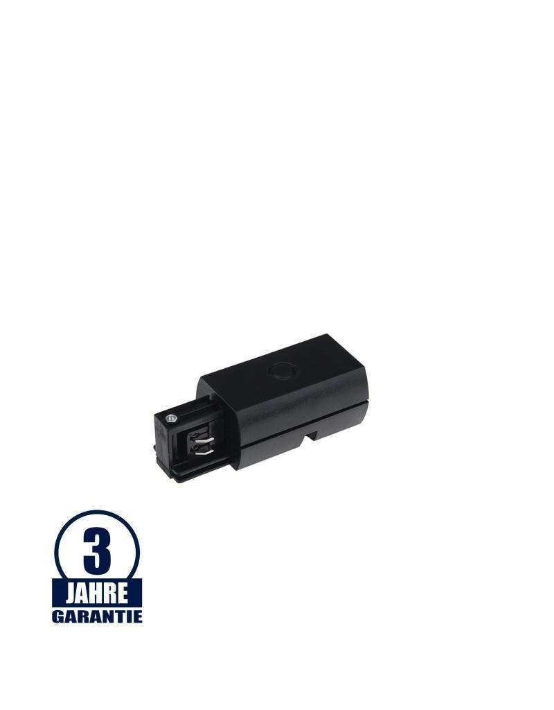 L-Anfangseinspeisung für 3Ph. Stromschiene Professional Schwarz
