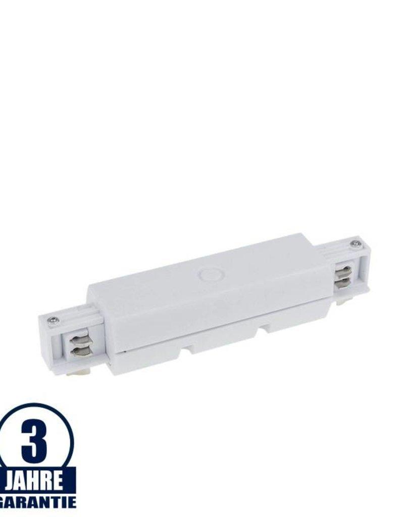 Verbinder für 3Ph. Stromschiene Professional Weiß