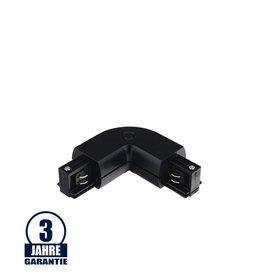 L-Verbinder für 3Ph. Stromschiene Professional Schwarz