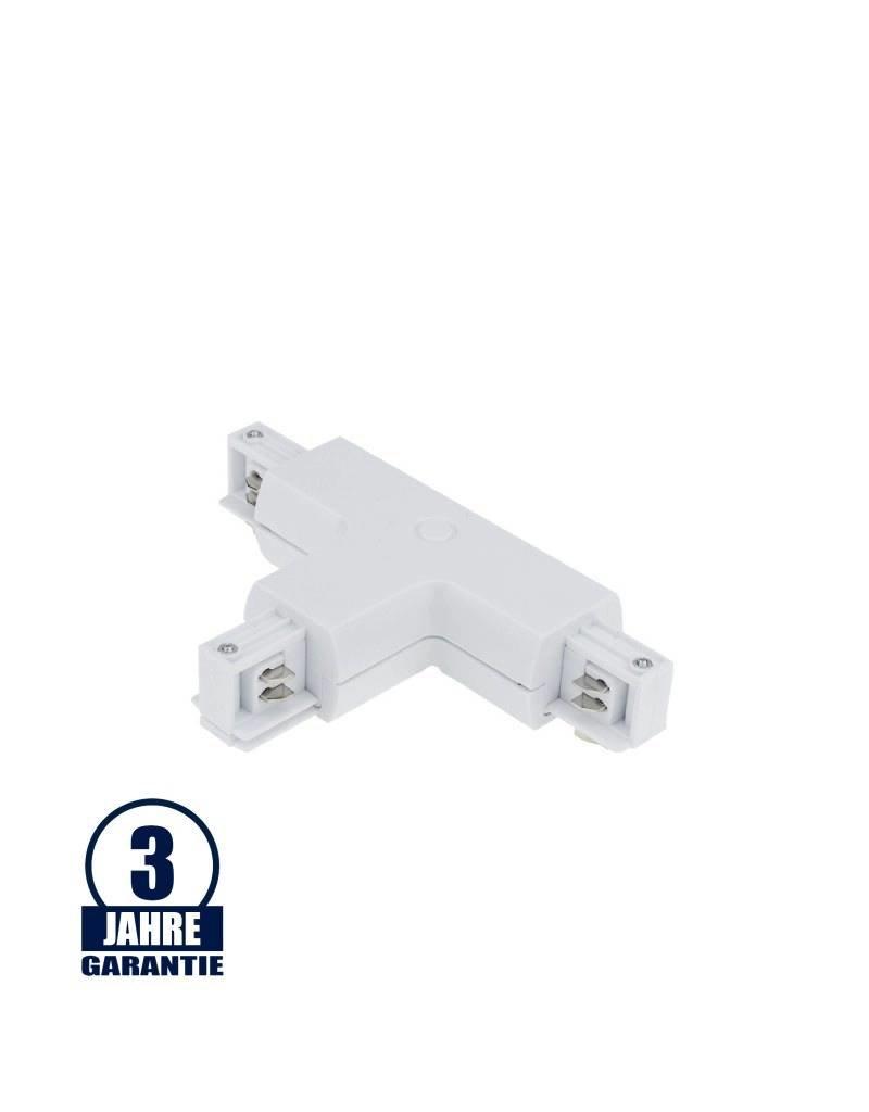 T-Verbinder für 3Ph. Stromschiene Professional Weiß