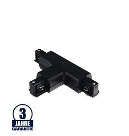 T-Verbinder für 3Ph. Stromschiene Professional Schwarz