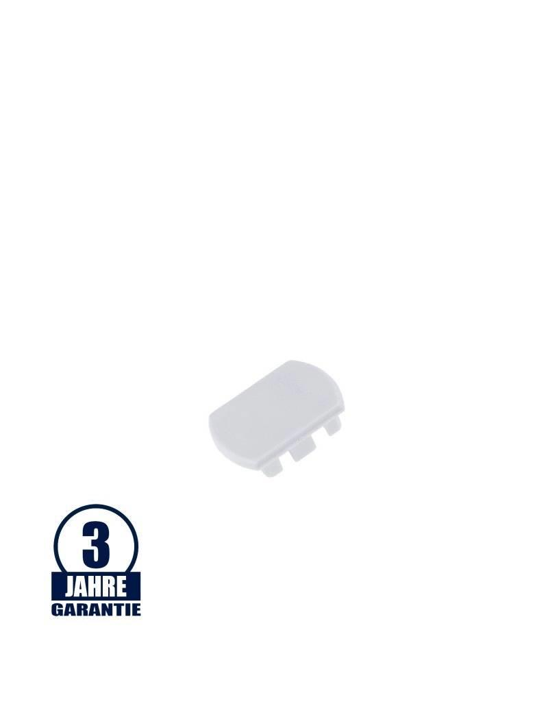 Endkappe für 3Ph. Stromschiene Professional Weiß
