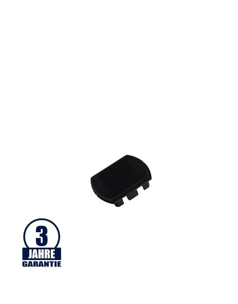 Endkappe für 3Ph. Stromschiene Professional Schwarz