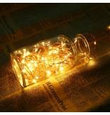 LEDFactory 22M LED Kupferdraht Lichterkette, USB Kupferdraht mit 200 LEDs, IP65 Wasserfest, Warmweiß, Zeitschaltuhr Merkfunktion, mit Fernbedienung