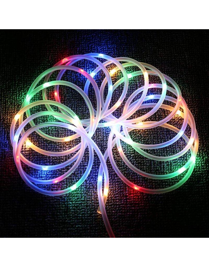 LEDFactory RGB USB Lichtschlauch mit 100 LEDs, 10M LED Lichterkette mit Fernbedienung, IP65 Wasserfest, Zeitschaltuhr Merkfunktion