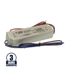 MEAN WELL 24V DC Kunststoff Netzteil Wasserdicht IP67 35W bis 150W
