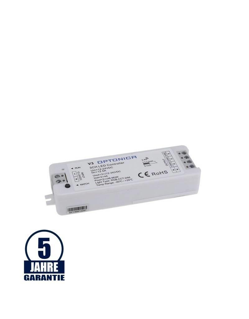 LEDFactory LED V3 Empfänger (Single Color, RGB,CCT)