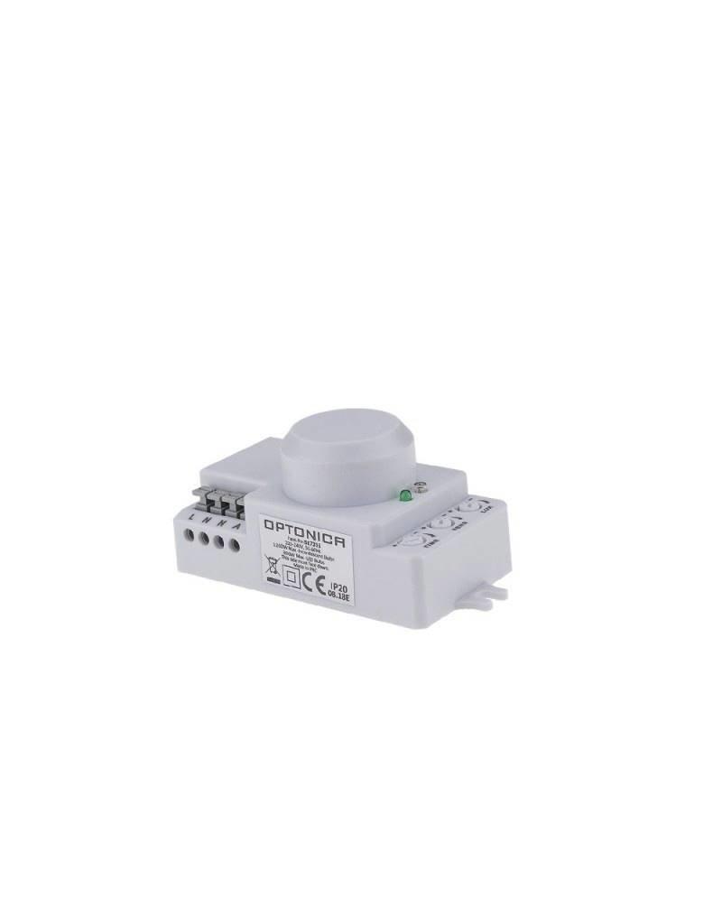 LED HF-Bewegungsmelder 5.8Ghz 360° IP20