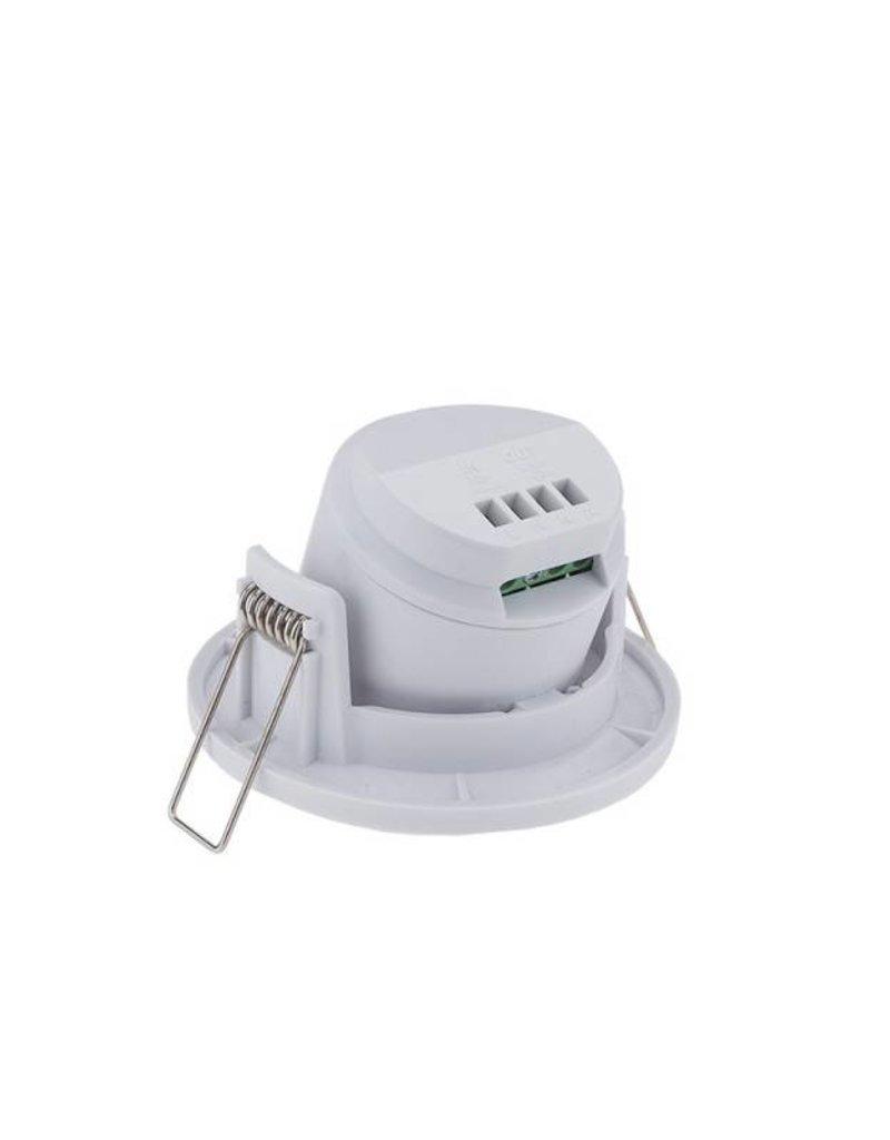 LED Bewegungsmelder Einbau Schwenkbar bis 300W Ø8m 360° IP20