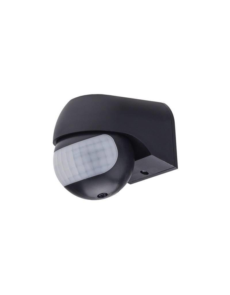 LEDFactory LED Bewegungsmelder Wandmontage bis 200W Ø12m 180° IP54 Schwarz