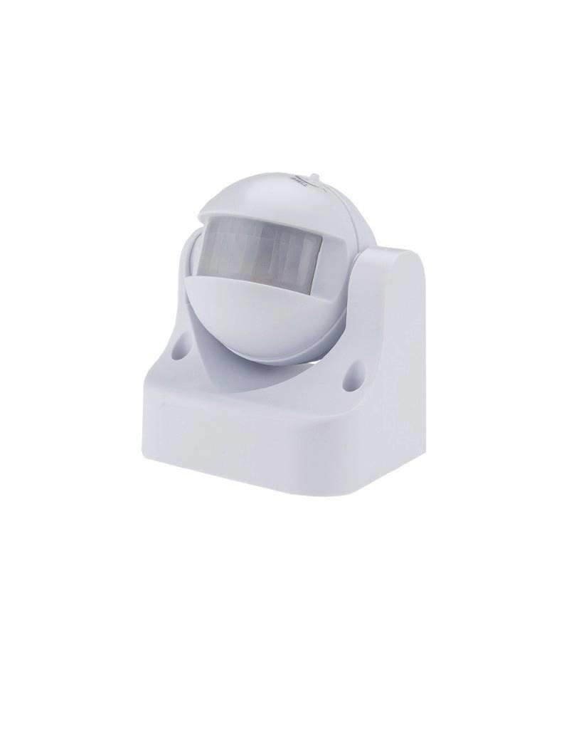 LEDFactory LED Bewegungsmelder Wandmontage bis 300W Ø12m 180° IP44