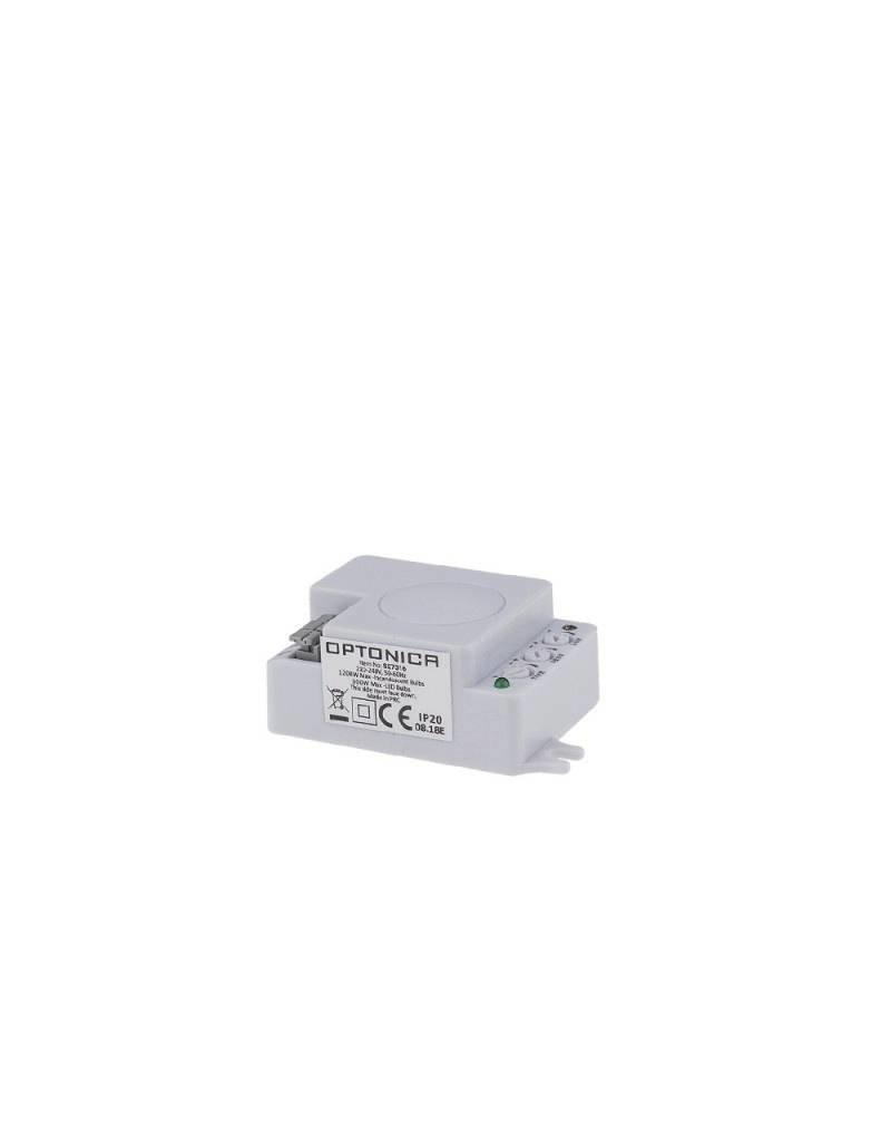 LED HF-Bewegungsmelder bis 300W Ø3-10m 360° IP20