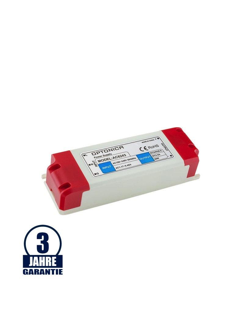 LEDFactory 24V DC Kunststoff Netzteil Professionell 24W bis 60W