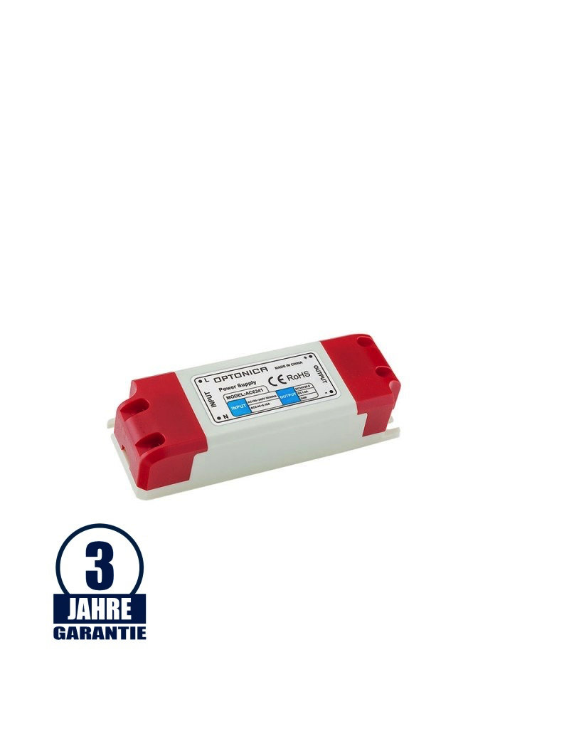 12V DC Kunststoff Netzteil Professionall 24W bis 60W