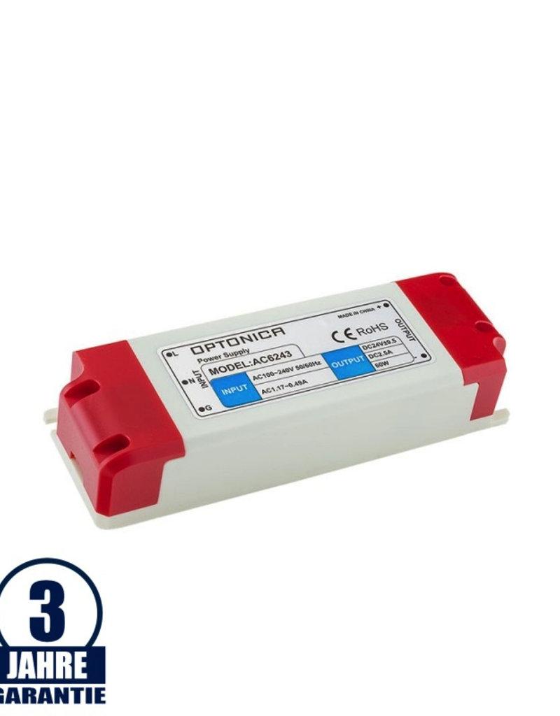 12V DC Kunststoff Netzteil Professionell 24W bis 60W