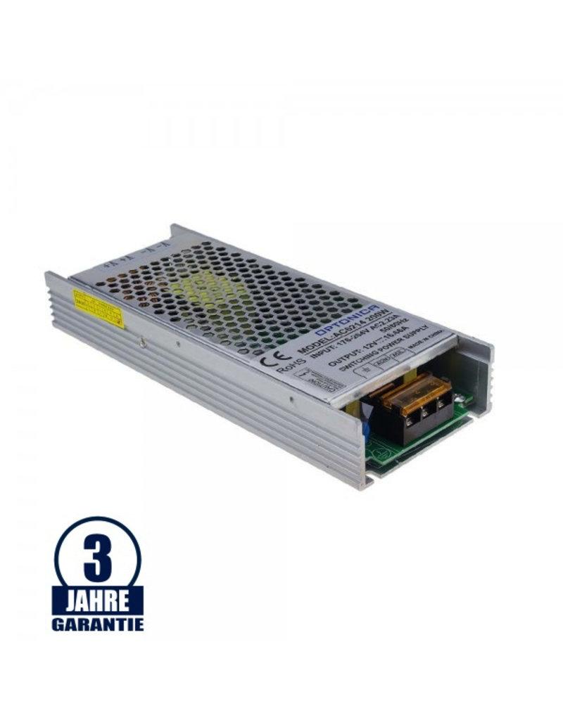 LEDFactory 12V DC Metall Netzteil Professional Slim 60W bis 200W