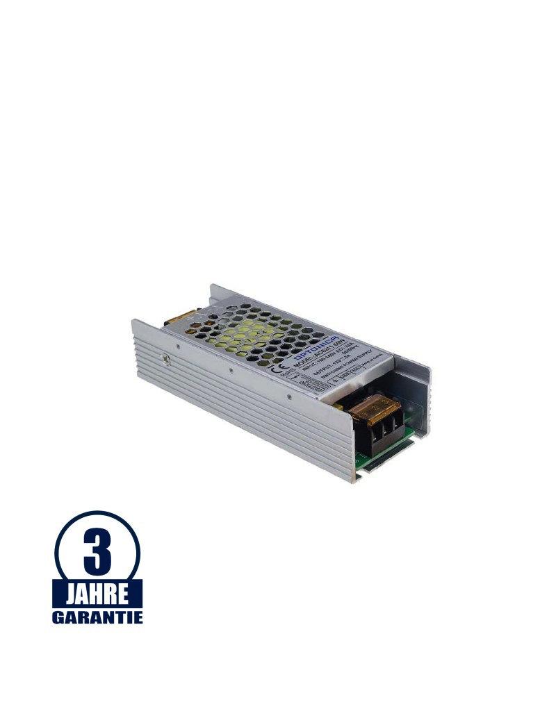 12V DC Metall Netzteil Professional Slim 60W bis 200W