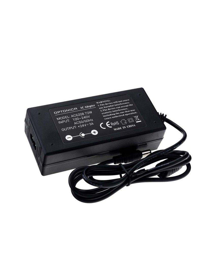 LEDFactory 24V DC Kunststoff Netzteil Professional mit Stecker 36W bis 72W