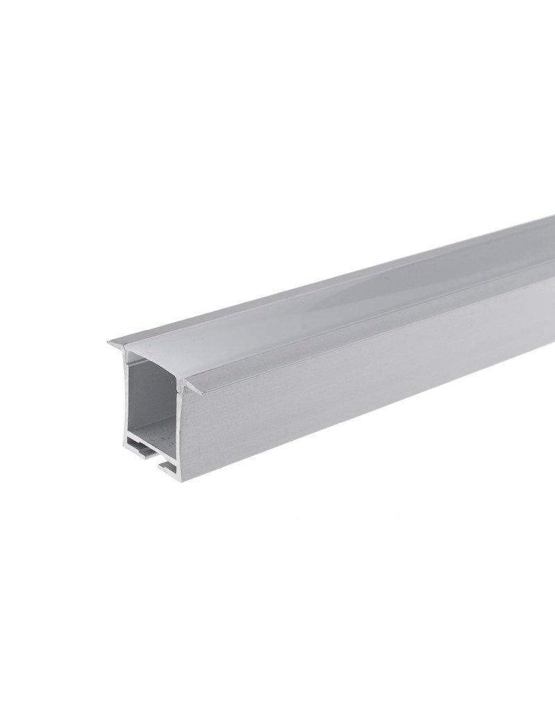 LED Profil Decken Einbau eloxiert