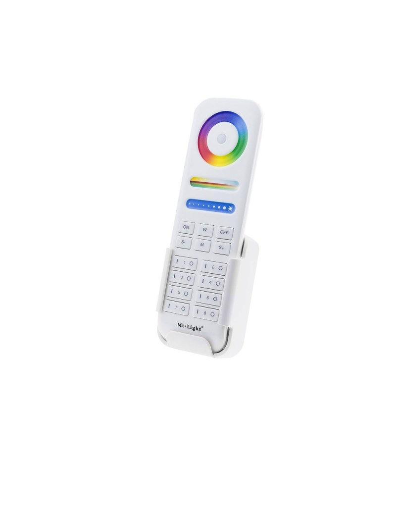 LEDFactory Mi-Light 2.4GHz 8-Zone smart RGB+CCT Remote Controller