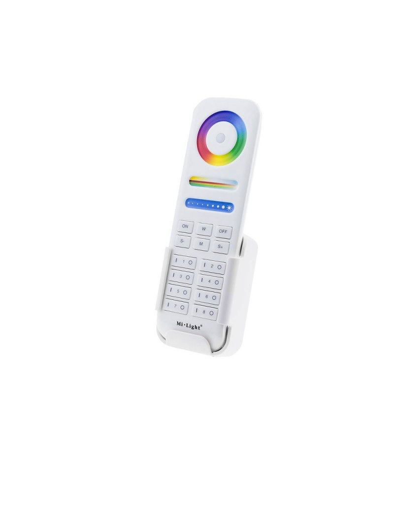 Mi-Light 2.4GHz 8-Zone smart RGB+CCT Remote Controller