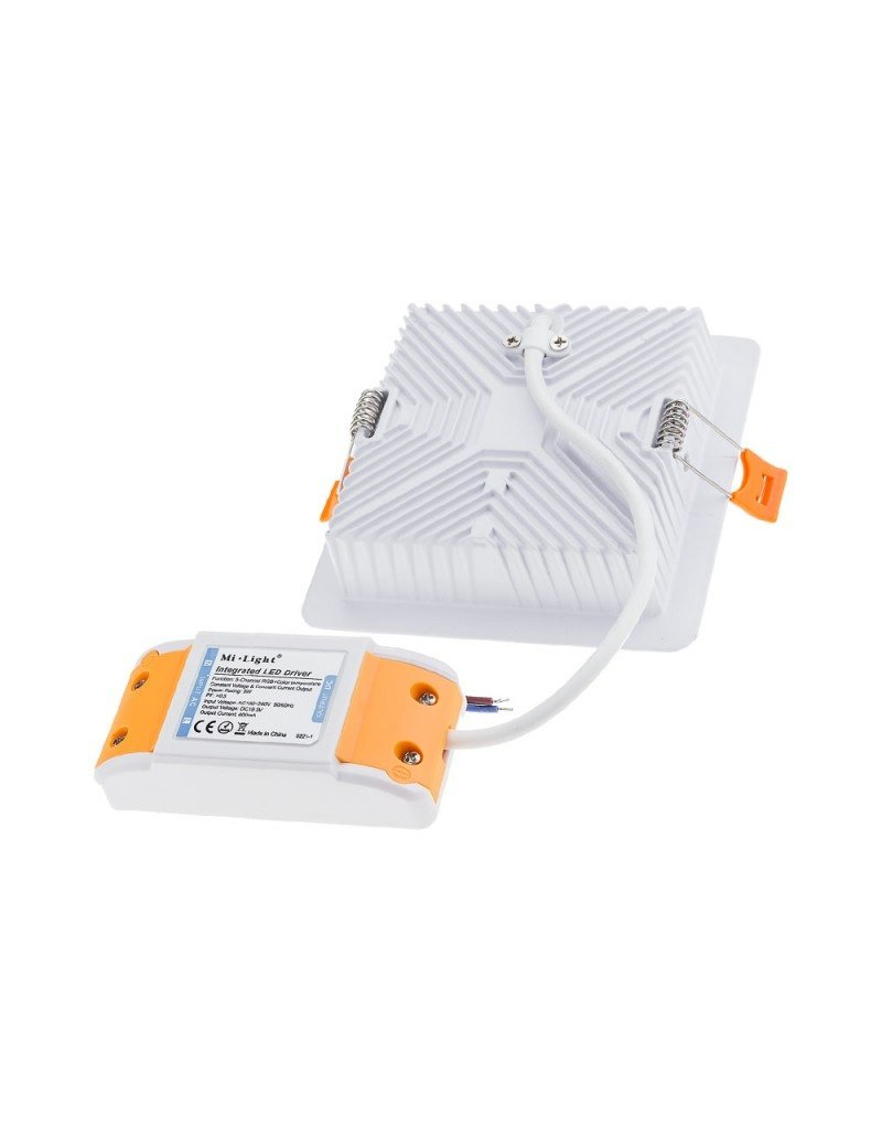 LEDFactory Mi-Light 2.4GHz RGB+CCT LED Downlight 9W