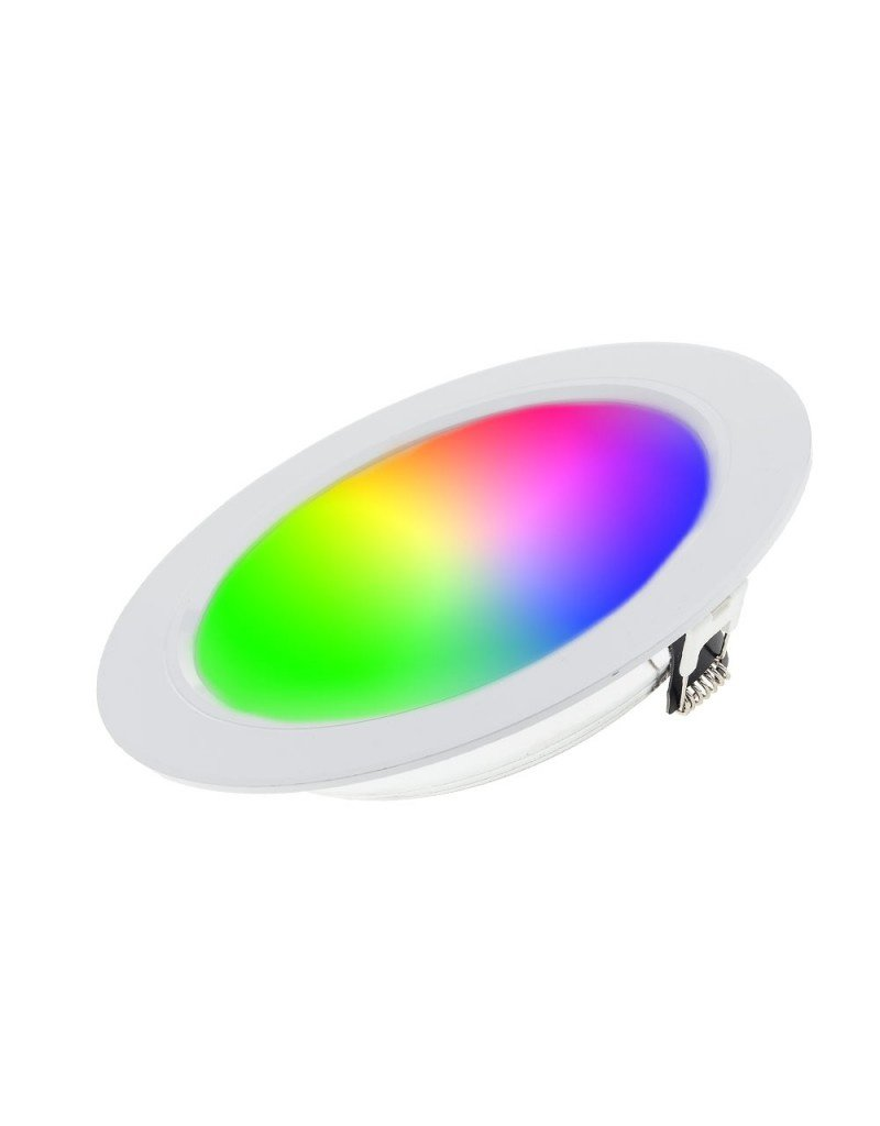 LEDFactory Mi-Light 2.4GHz RGB+CCT LED Downlight 12W