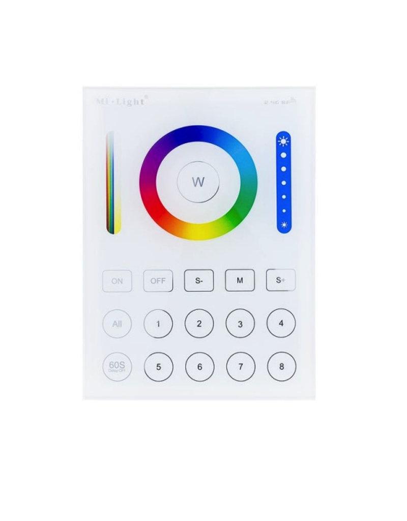 Mi-Light 2.4GHz 8-Zone smart RGB+CCT Panel Remote Steuerung