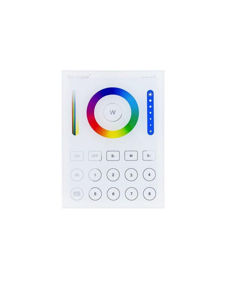 LEDFactory Mi-Light 2.4GHz 8-Zone smart RGB+CCT Panel Remote Steuerung