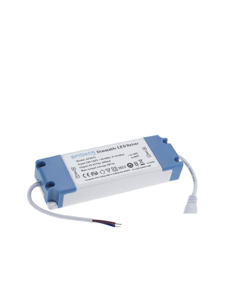 LEDFactory LED Panel 25W 600mA 30-42V Netzteil Dimmbar
