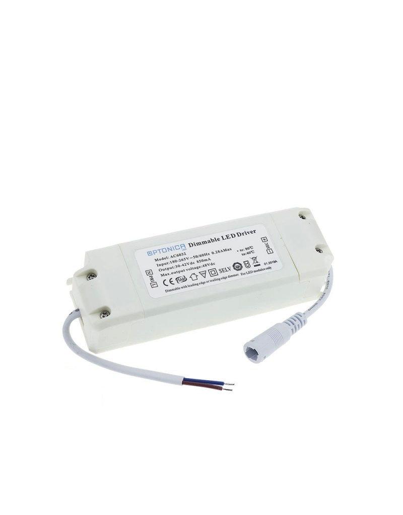 LEDFactory LED Panel 36W 850mA 30-42V Netzteil Dimmbar