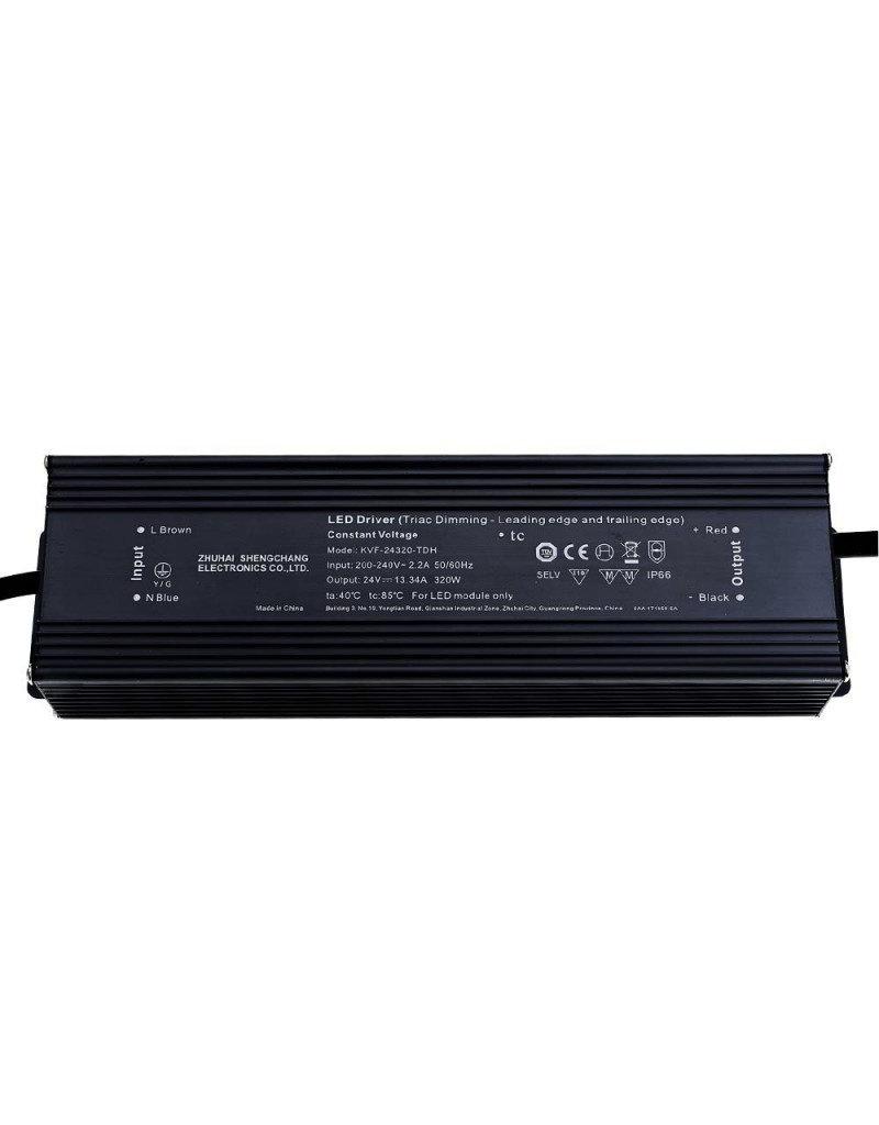 SC Power 24V DC Metall Netzteil Dimmbar IP66 80W bis 320W