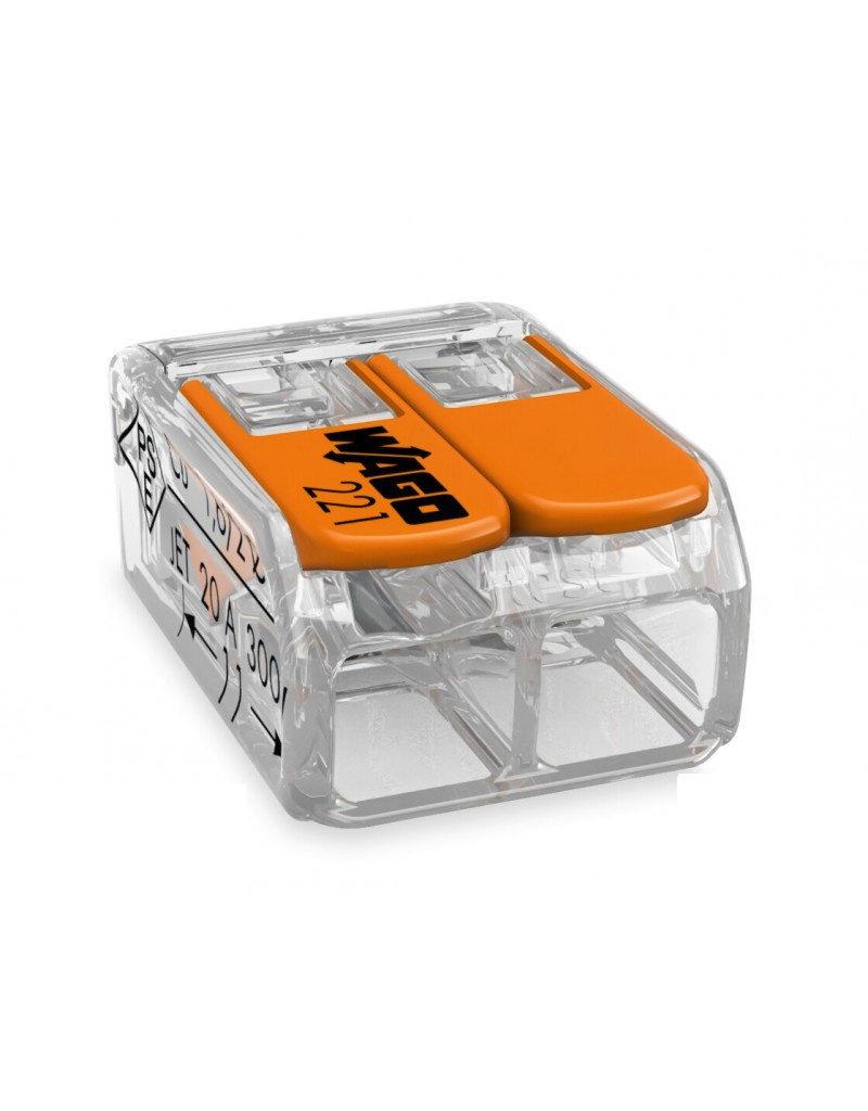 LEDFactory WAGO COMPACT-Verbindungsklemme für 2 Leiter