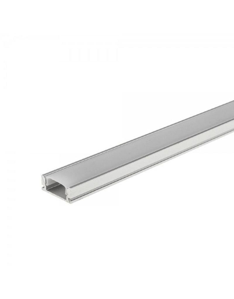 LEDFactory LED Profil Micro eloxiert 1m SET