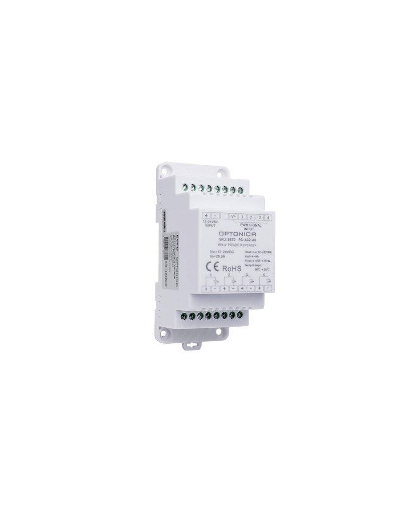 LEDFactory LED EV4-D 12-24V Repeater 20A 4Kanal 3KV isoliert