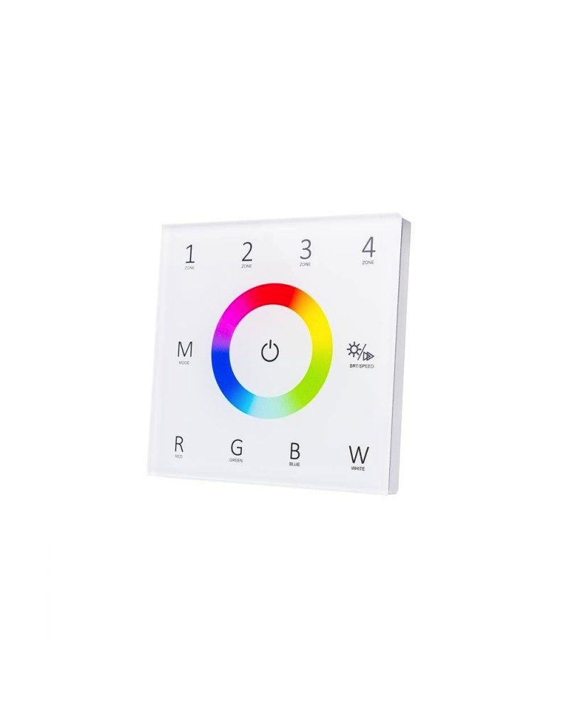 LED T14 DMX-RF 4 Zonen RGBW Wandcontroller