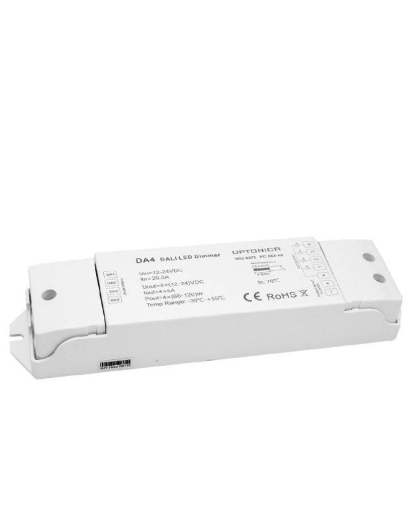 LED DA4 Dali Controller 20A 4Kanäle