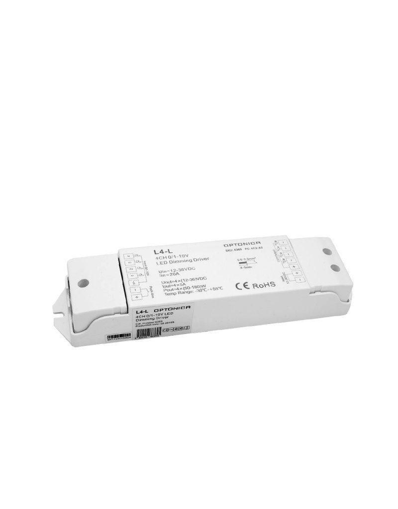 LEDFactory LED L4-L 0/1-10V Controller 20A 4Kanal