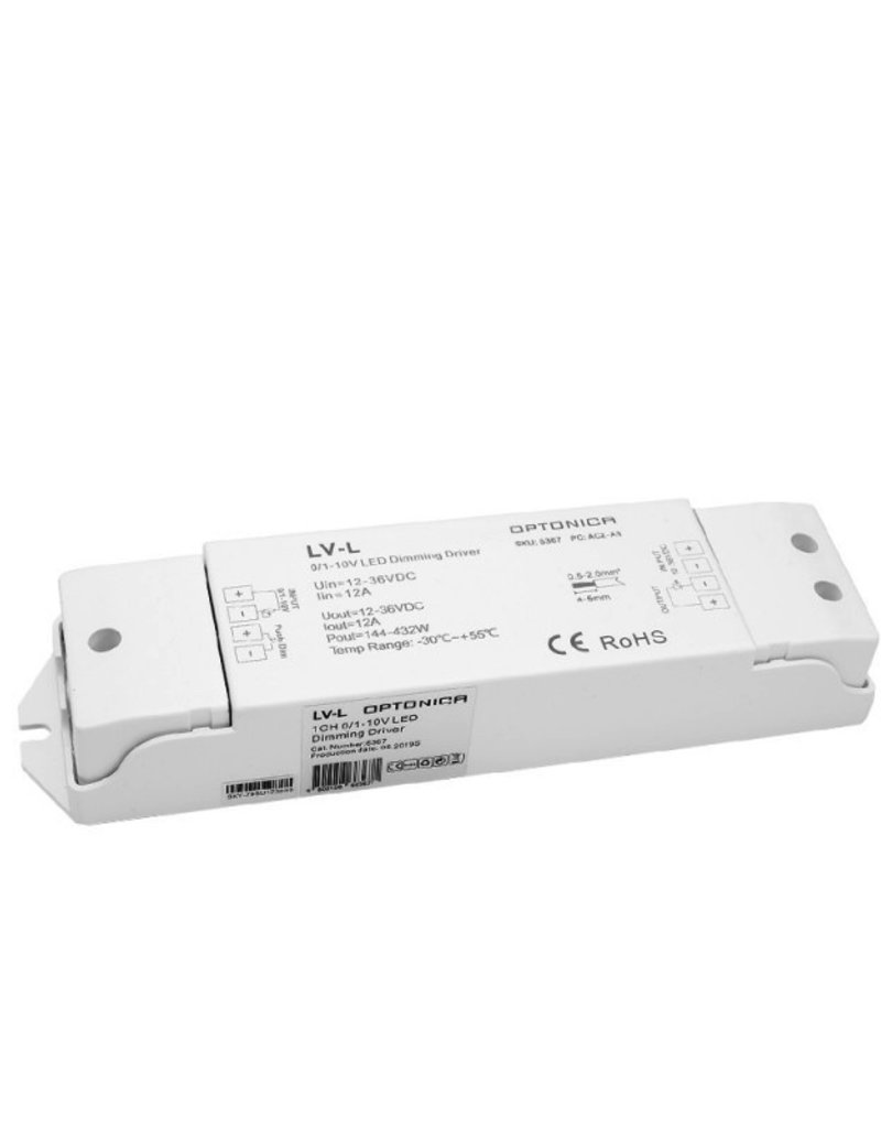 LED LV-L 0/1-10V Controller 12A 1Kanal