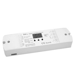 LED D4-L RGB / RGBW DMX512 Decoder