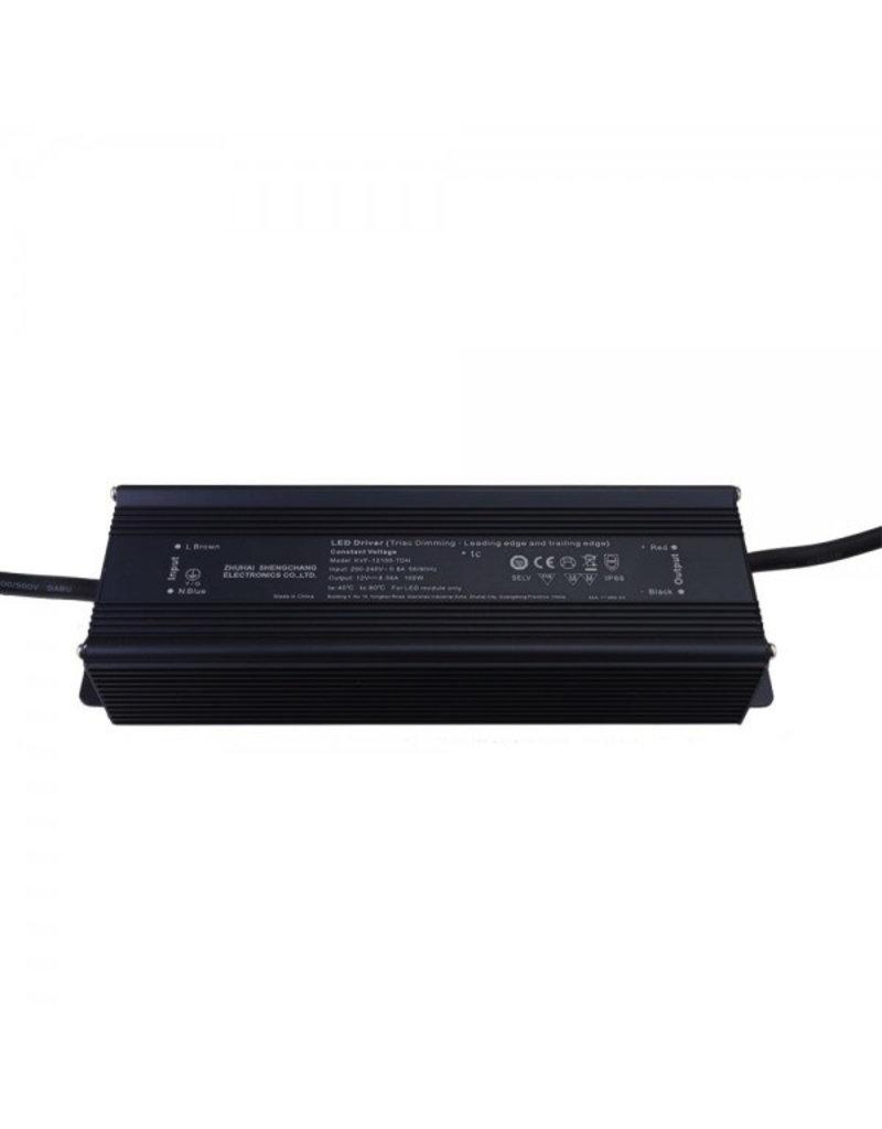LEDFactory SC Power 12V DC Metall Netzteil Dimmbar IP66 60W bis 200W