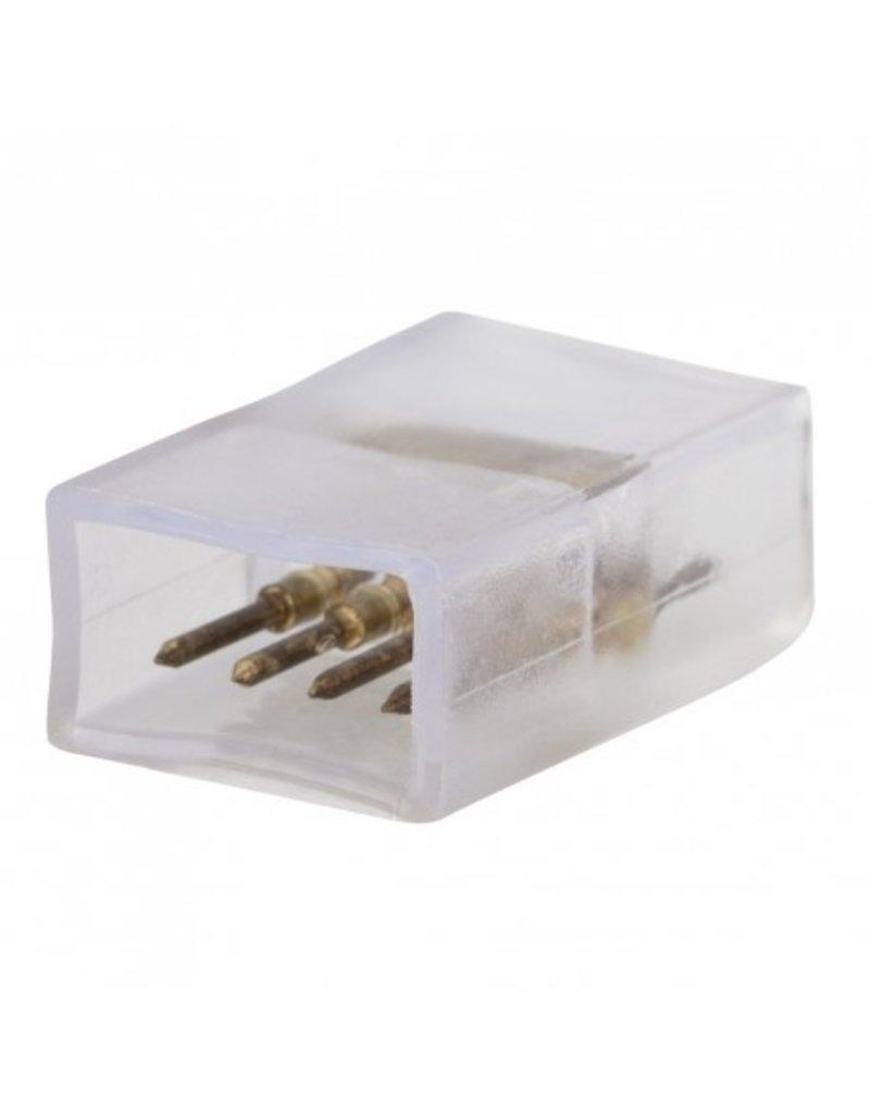 LEDFactory 4-Pin Steckverbinder für 230V 5050 RGB LED Streifen