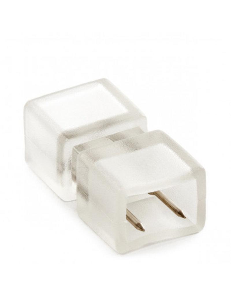2-Pin Steckverbinder für 230V 3528 einfarbige LED Streifen