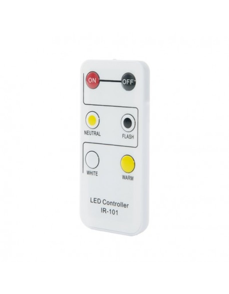 LEDFactory Anschlusskabel / Controller für 230V 5630 CCT LED Streifen inkl. Fernbedienung