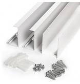 LED Panel Rahmen 1200X600mm Weiß