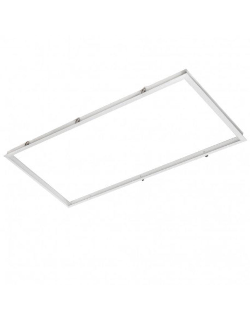 LED Panel Unterputz Rahmen 1200X600mm Weiß